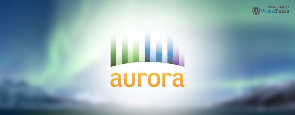 Aurora: Powered by WordPress